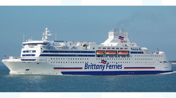 Brittany Ferries Meridian Itv News