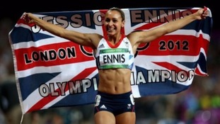 Athletics golden girl Jessica Ennis Hill