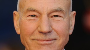 Star Trek actor Sir Patrick Stewart will carry the torch in Croydon.