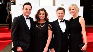Ant McPartlin, Lisa Armstrong, Declan Donnelly, and Ali Astall.