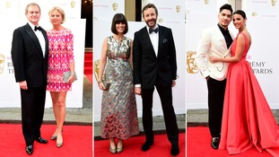 Hugh Bonneville and Lulu Williams, Dawn O'Porter and Chris O'Dowd and Louis Smith and Lucy Mecklenburgh.