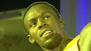 Usain Bolt waxwork