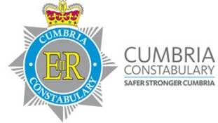 Cumbria police sign