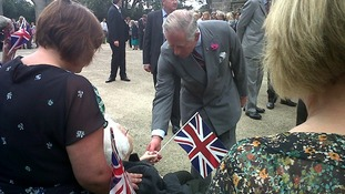 Prince Charles at Auckland Castle