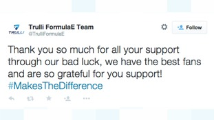 The Trulli Team thanked their fans on Twitter