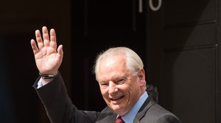 Francis Maude arriving at 10 Downing Street today to find out his new role