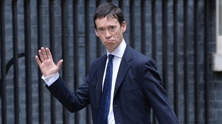 Rory Stewart arrives at Downing Street.