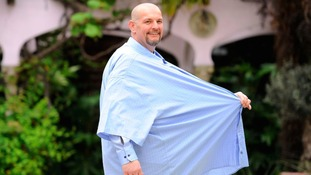 Biscuit factory worker loses 18 stone after health scare