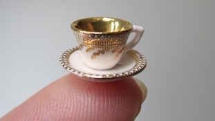 Miniatura jubilee tea-set