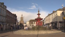 Dumfries town centre.