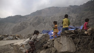 A second powerful earthquake in Nepal has killed at least 66 people