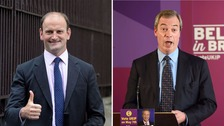 Douglas Carswell (left) and Nigel Farage are at loggerheads.