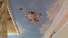Grandfather paints council house like Sistine Chapel