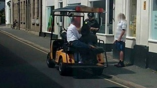 Golf buggy parking offences spiral on Isles of Scilly