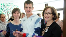 Bridget Fletcher, Jonny Brownlee, Meg Crossley
