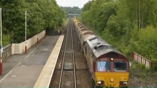 Ballast train reduces rail delays between Norwich and London