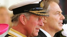 Prince Charles and Tony Blair pictured in 2007.