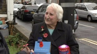 Tributes as Britain's oldest poppy-seller dies aged 92