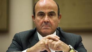 Spain's Economy Minister de Guindos