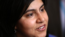 Baroness Warsi has criticised the government