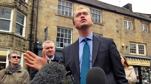 Tim Farron in Otley