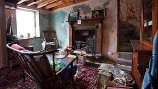 Interior of 1854 cottage