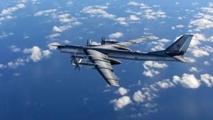 A Russia Bear bomber