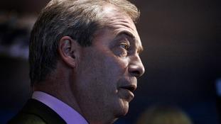Nigel Farage said he predicted an EU referendum as soon as May 2016.