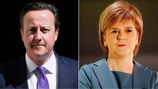 David Cameron and Nicola Sturgeon.