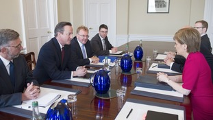 The Prime Minister held talks with the First Minister.