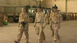 The Royal Irish Regiment at Clive Barracks, Tern Hill