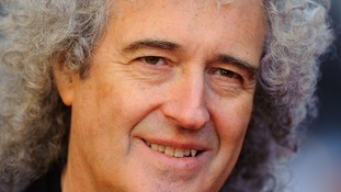 Brian May, of Queen, has also put his name to the anti-piracy campaign.