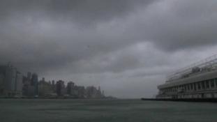 Typhoon Vicente has struck Hong Kong.