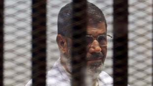 Former Egyptian President Mohamed Morsi.