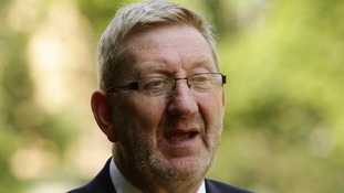 General Secretary of Unite union Len McCluskey