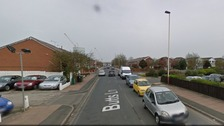 A Google street view image of Butts Lane in Southport.