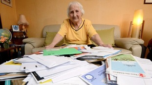 Olive Cooke was getting up to 260 letters a month from charities asking for money.