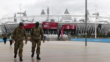 An extra 1200 troops will be deployed to help with Olympic security