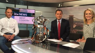Mark McChrystal brings the new Bristol Rovers silverware into the studio