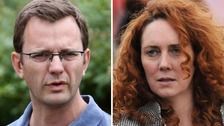 Andy Coulson Rebekah Brooks phone hacking allegations