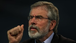 Sinn Fein leader Gerry Adams expected to meet Prince Charles.