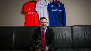 England Disability Cricketer of the Year Luke Sugg