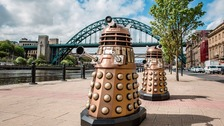 Daleks on the Quayside.