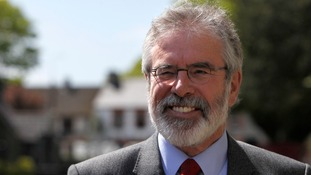 Gerry Adams says he wants to talk about the past.