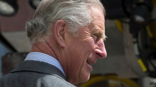 Prince Charles will visit Mullaghmore, County Sligo, later today.