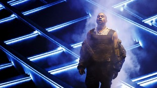 """Kanye West performs """"All Day"""" during the 2015 Billboard Music Awards in Las Vegas."""