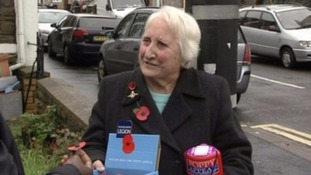 Olive was a familiar face around Bristol, selling poppies for 76 years.