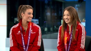 Watch: Bianca Walkden and Rachelle Booth on their Taekwondo World Championship success