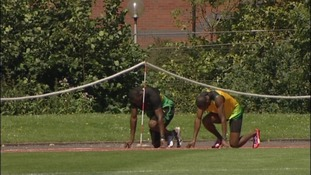 Ready...set....GO! Jamaica's Olympic athletes training today