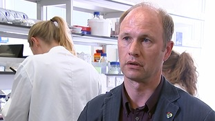 Professor Paul Riley who is leading the research.